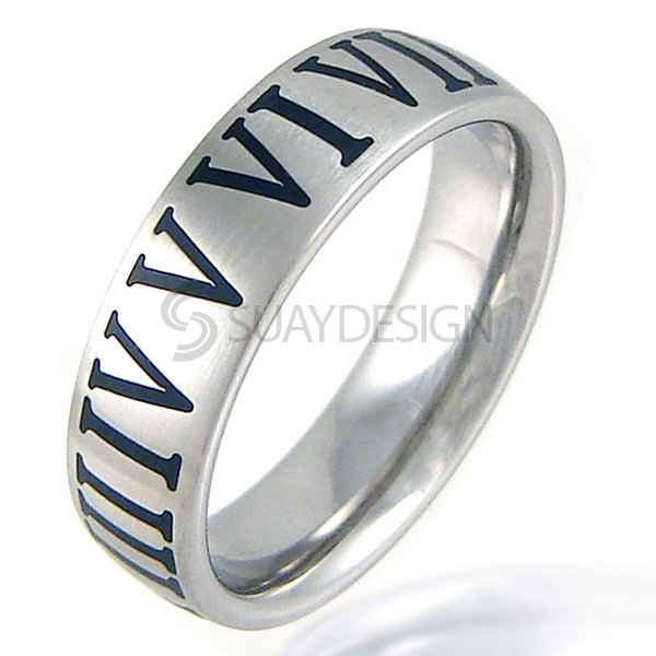 Women's Prime Titanium Ring Satin
