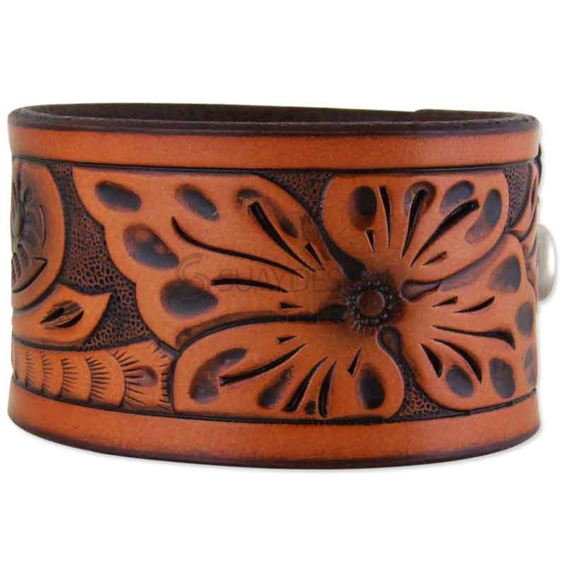 Tahiti Leather Bracelet