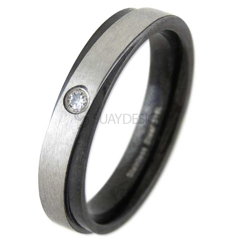 Women's Compel Steel Ring