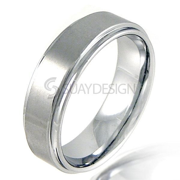 Women's Reverse 8 Tungsten Ring