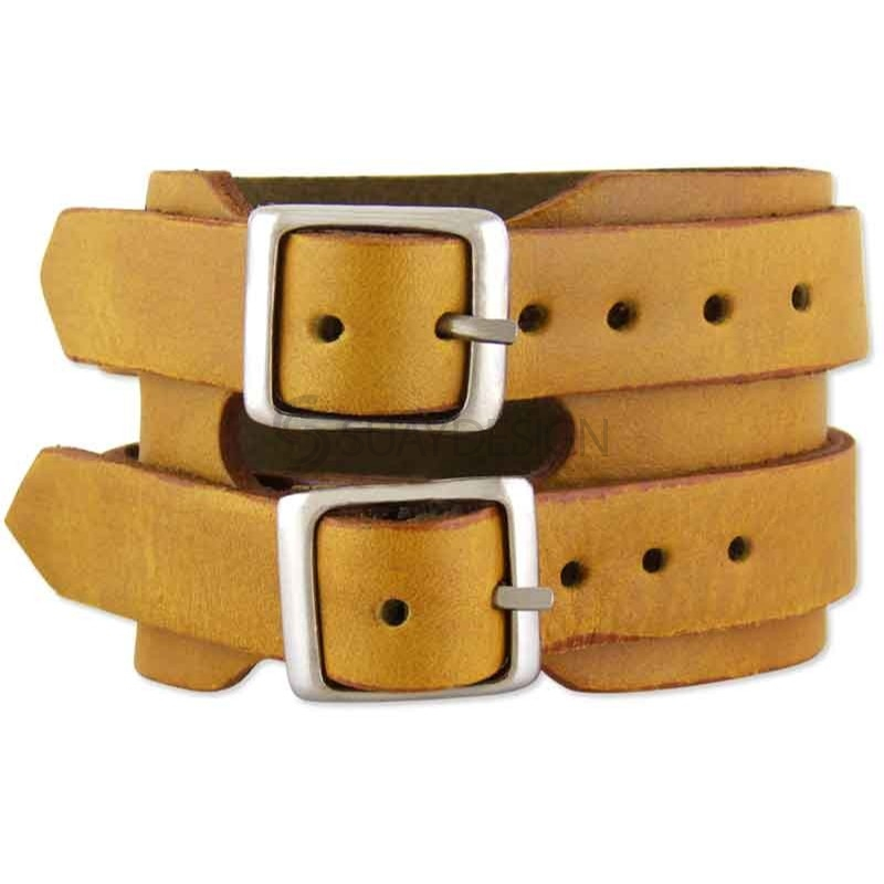Trento Tan Leather Bracelet