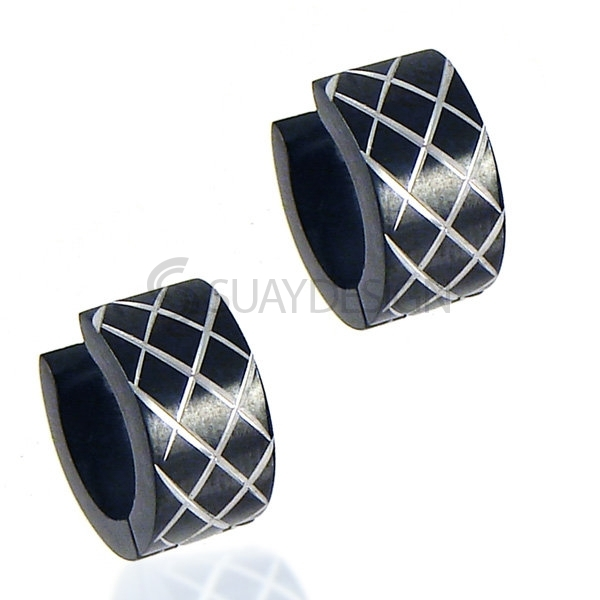 Women's Urban Steel Earrings
