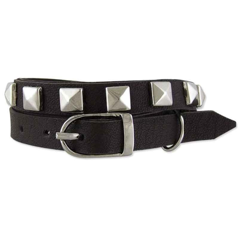 Women's Lagos Brown Leather Wraparound Bracelet