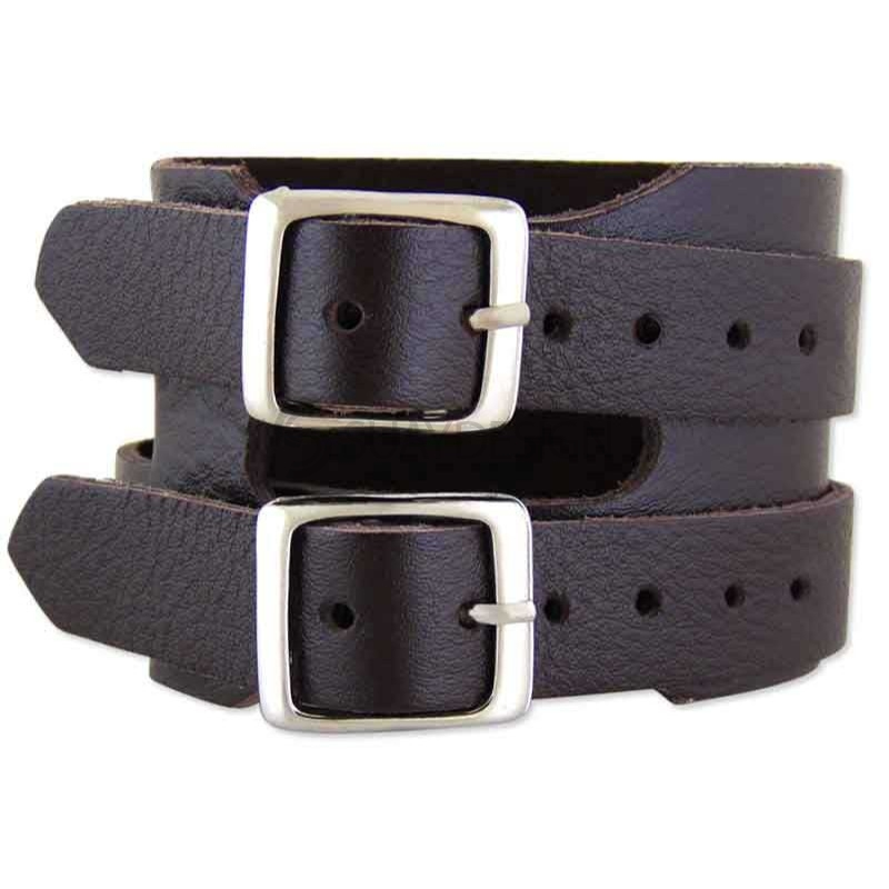 Trento Brown Leather Bracelet