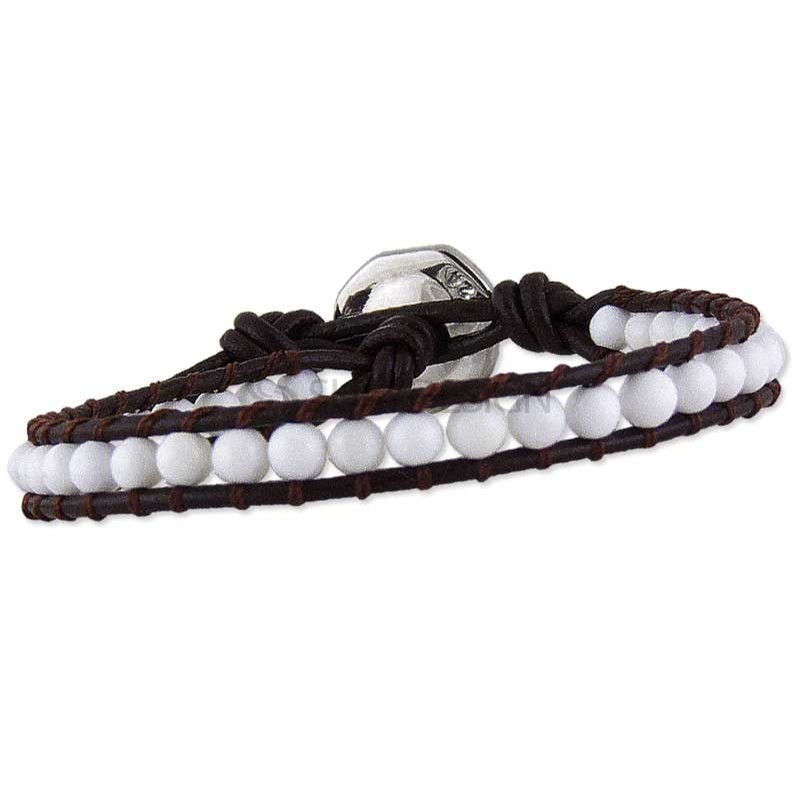 Alternative photo: Women's Rio Brown Leather Bracelet