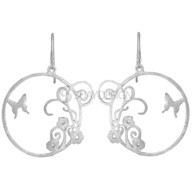 Women's Paradise Silver Earrings