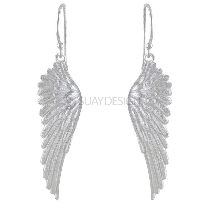 Women's Silver Gabriel Earrings