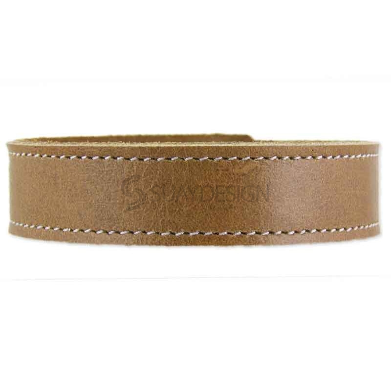 Ferarra Tan Leather Bracelet
