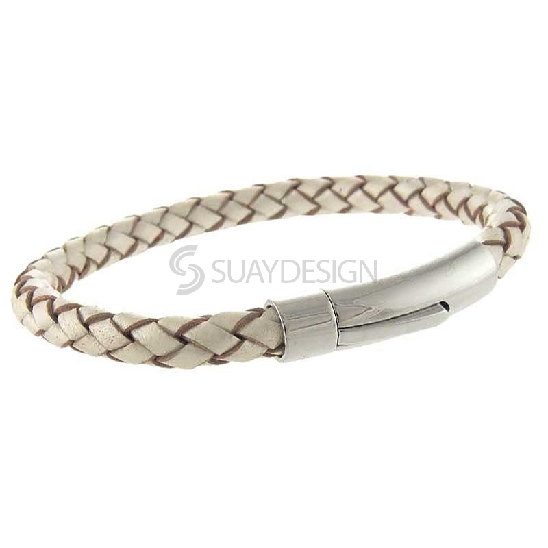 Women's Arizona Pearl Leather Bracelet