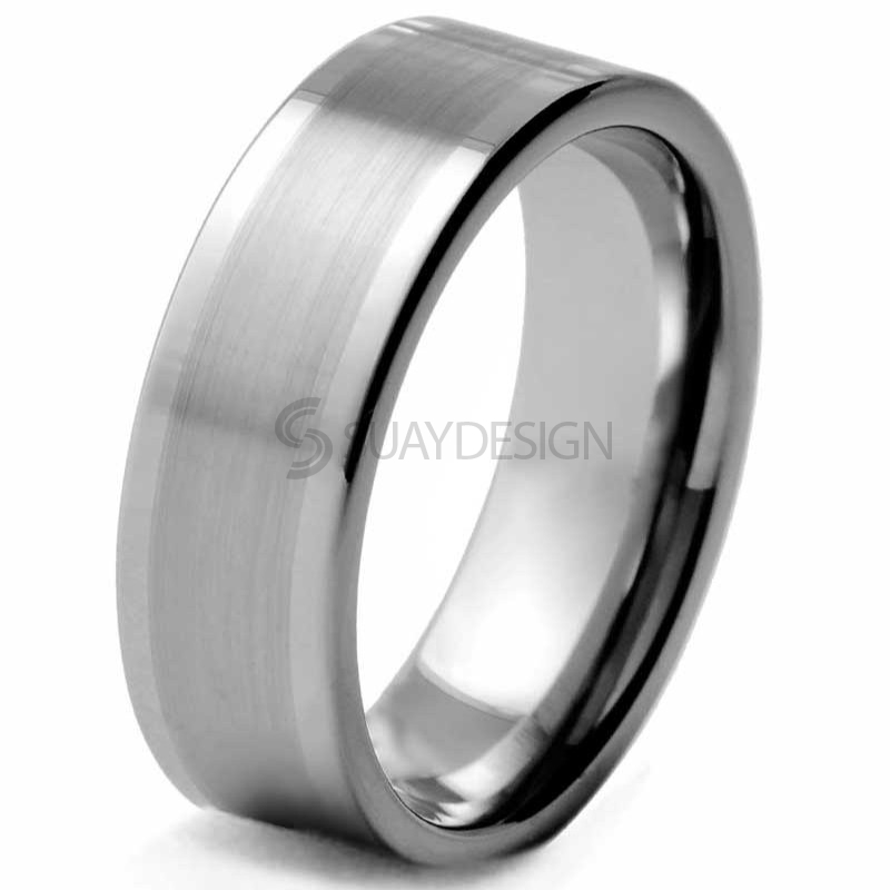 Turn Tungsten Ring