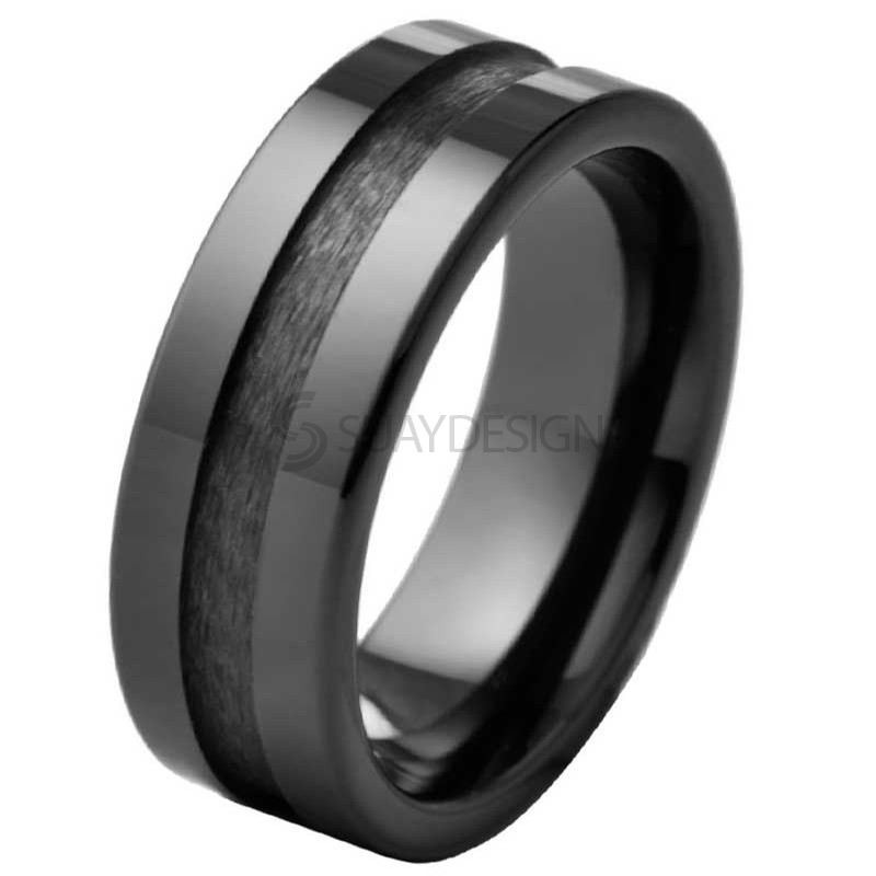 Regulate Black Ceramic Ring