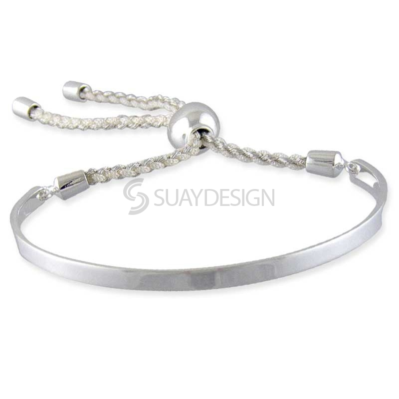 Women's Talia Silver Friendship Bracelet