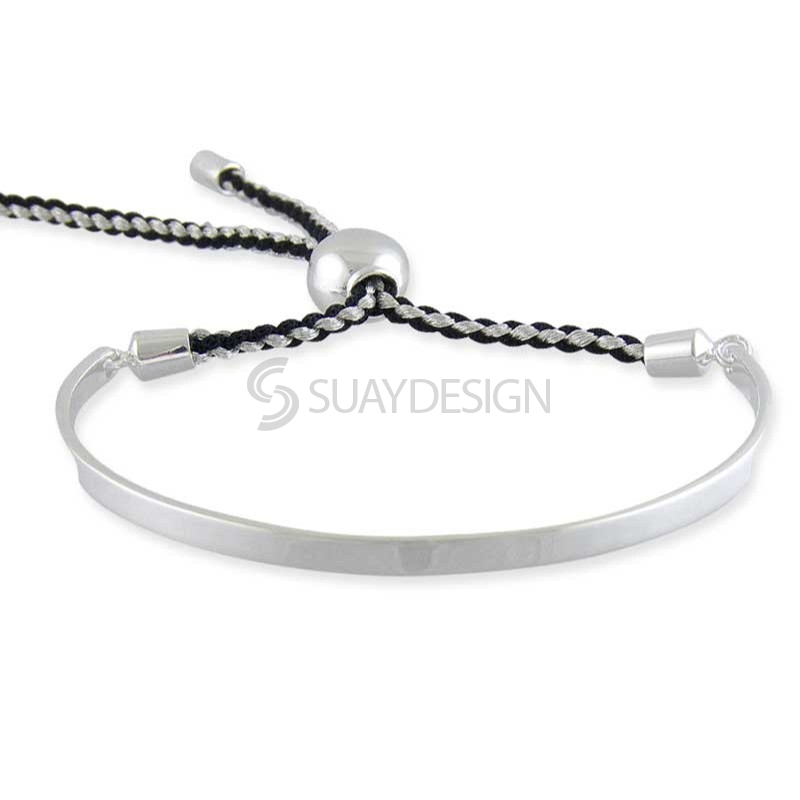 Women's Samara Silver Friendship Bracelet