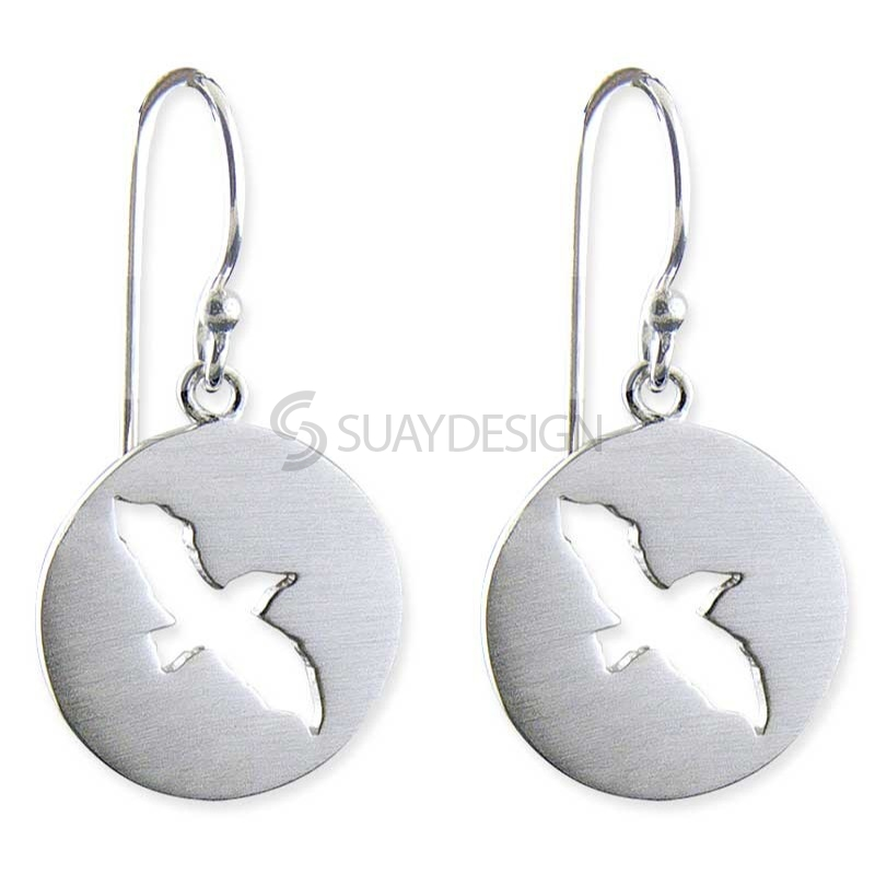 Women's Arise Silver Earrings