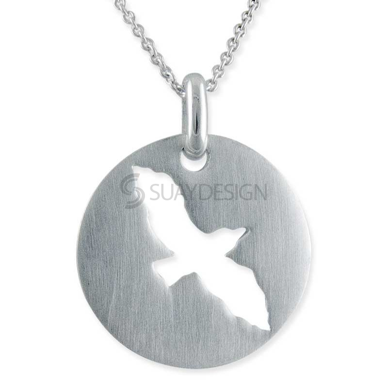 Women's Arise Silver Necklace
