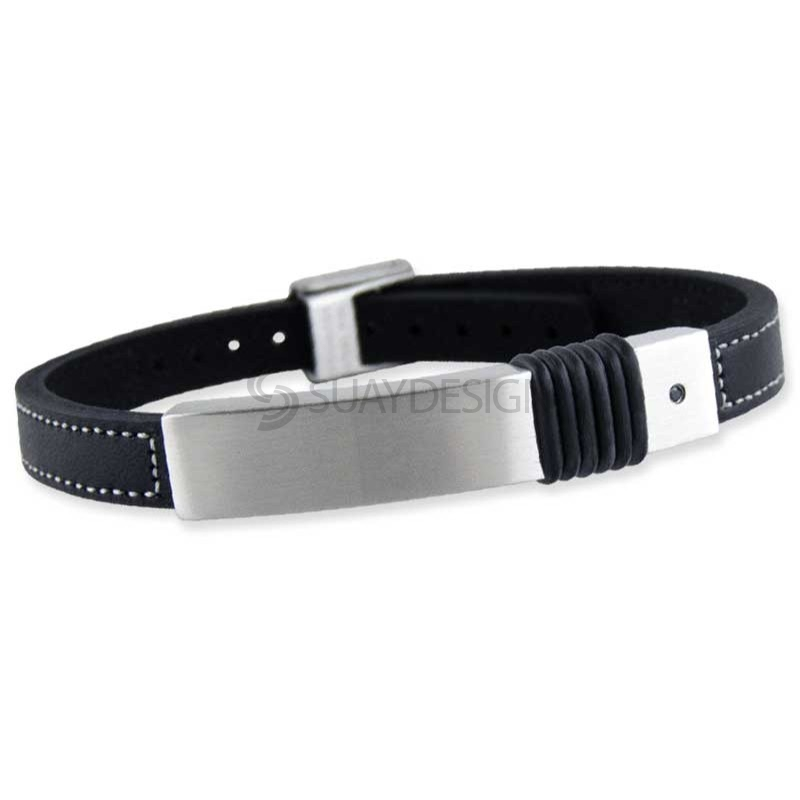 Amplify Leather Bracelet