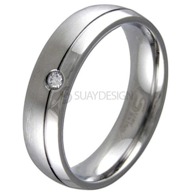 Women's Elevate Steel Ring