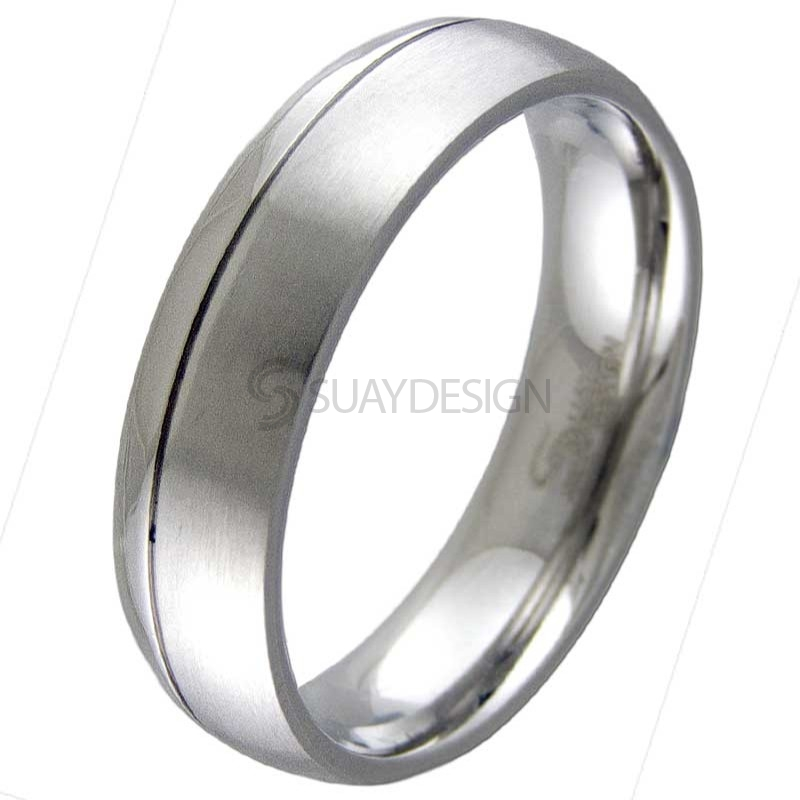 Women's Elevation Steel Ring