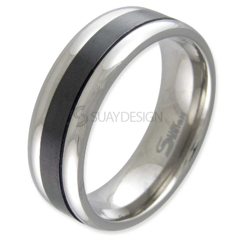 Women's Rome Titanium Ring