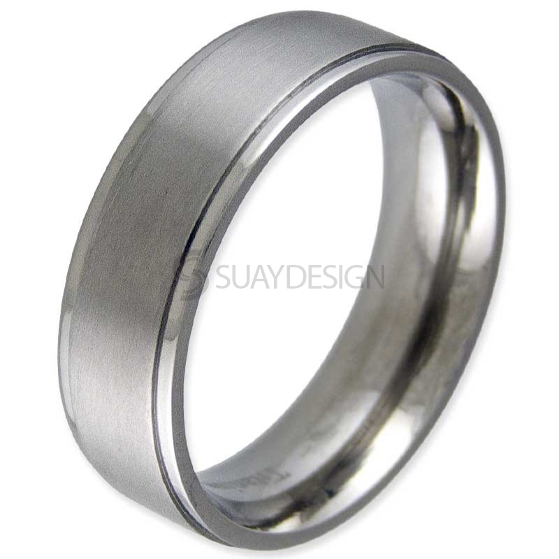Women's Modesty 6 Titanium Ring
