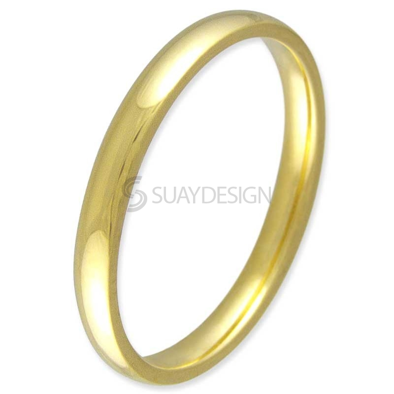 Women's Compliment Gold Ring