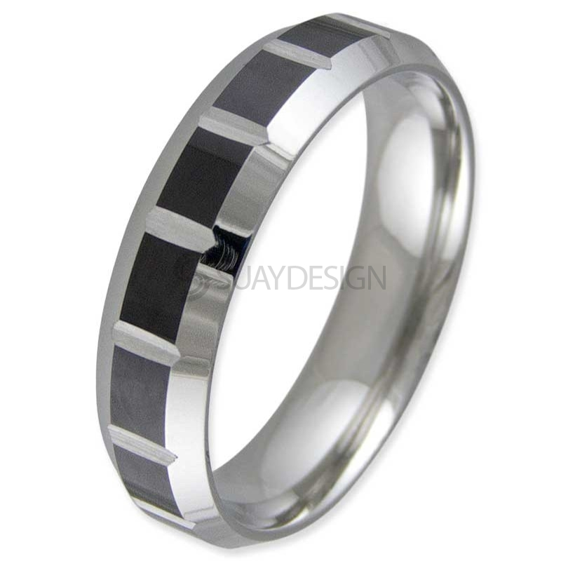 Women's Captive Steel Ring