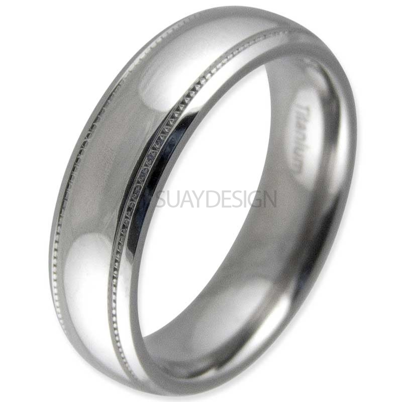 Women's Salute Titanium Ring