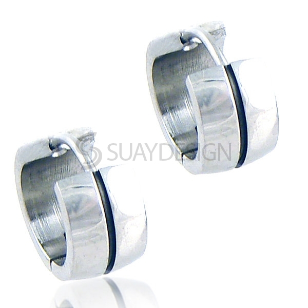 Women's Stand Steel Earrings