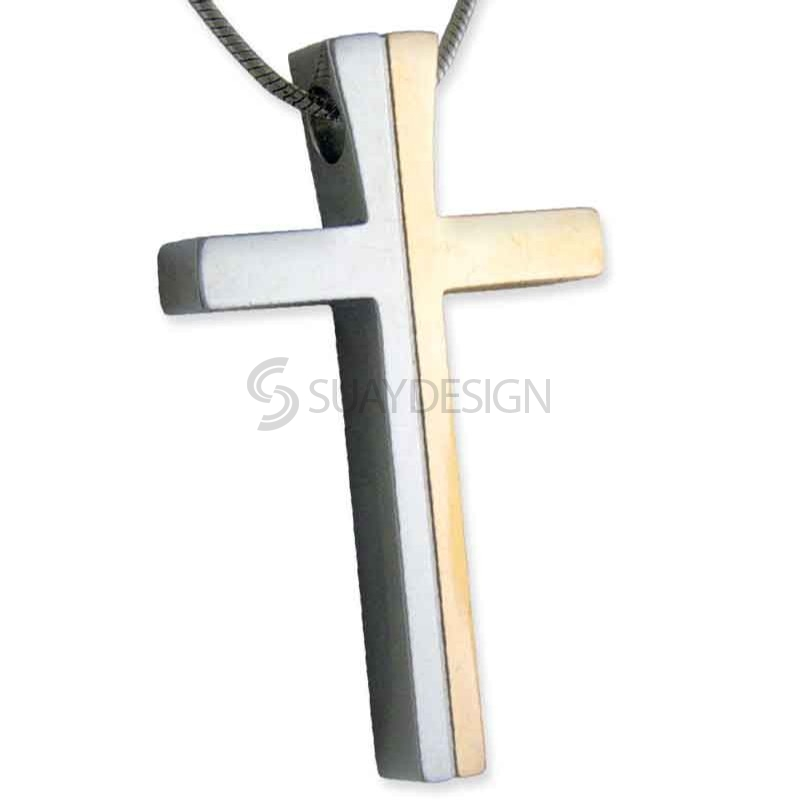 Women's Tempest Steel Rose Cross