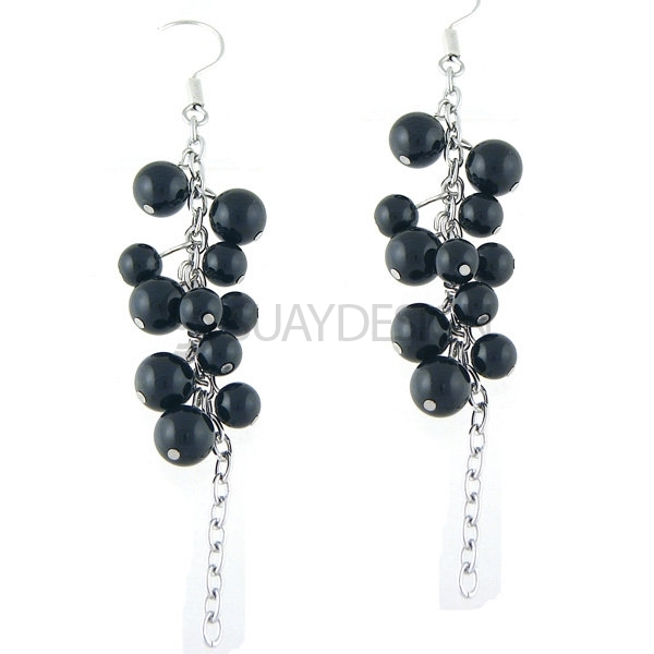 Women's Blackberry Steel Earrings