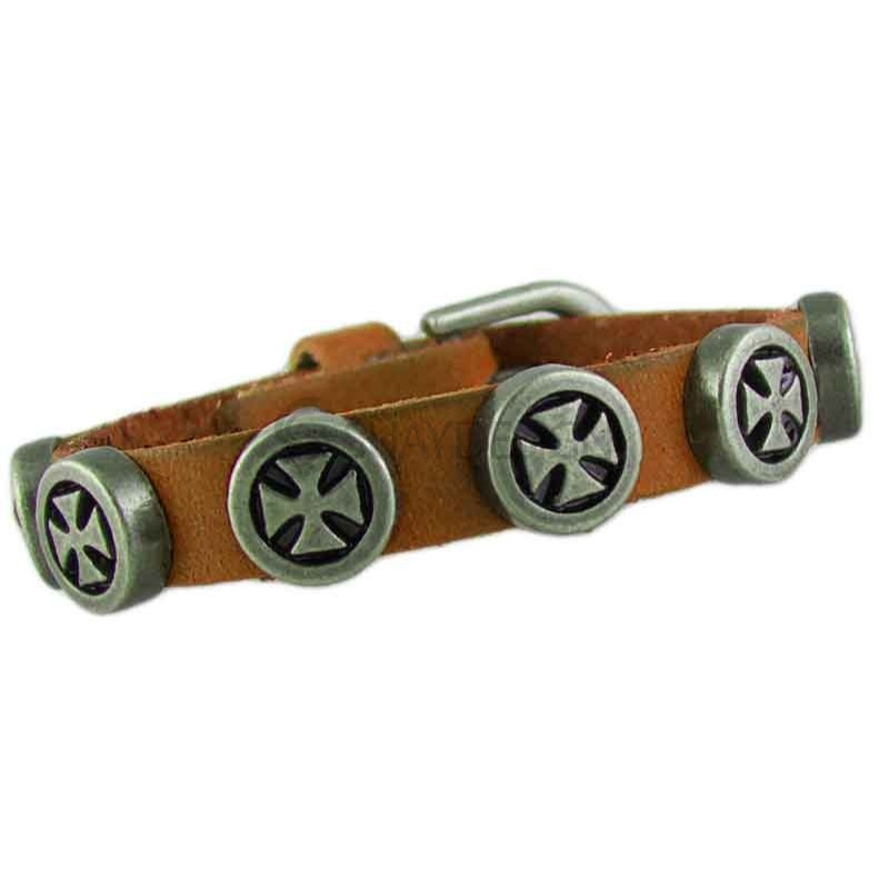 Cross 041 Tan Leather Bracelet