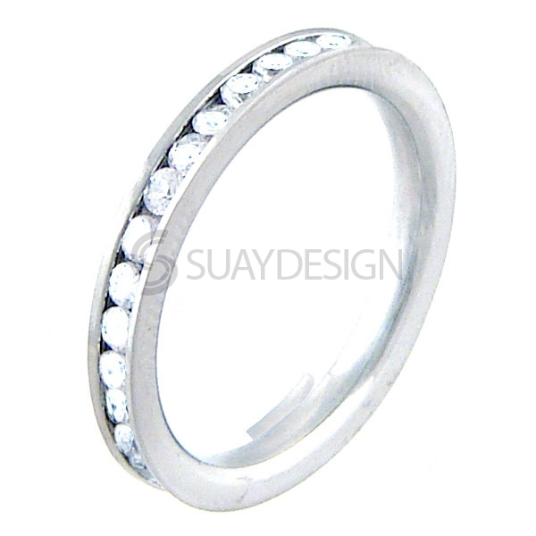 Women's Radiance Steel Ring