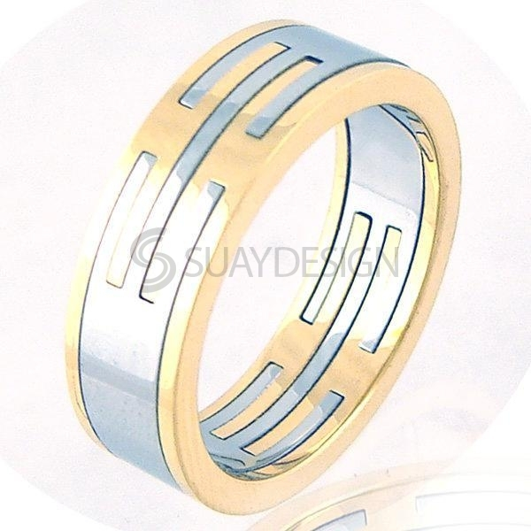 Women's Regal Stainless Steel Ring