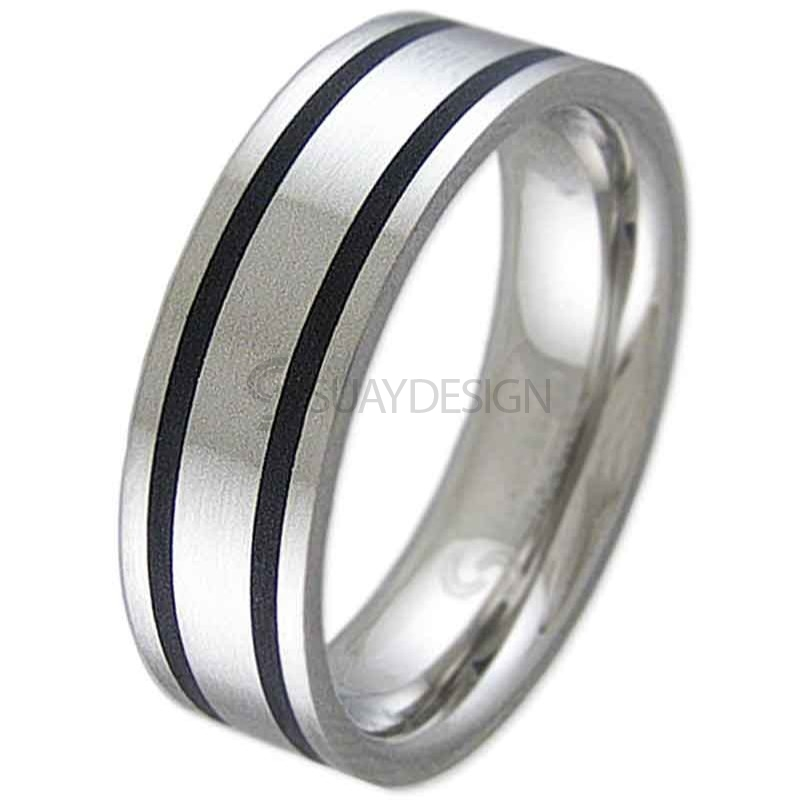 Women's Insist Steel Ring