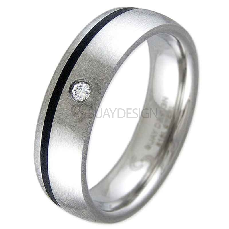 Women's Mesmerise Steel Ring