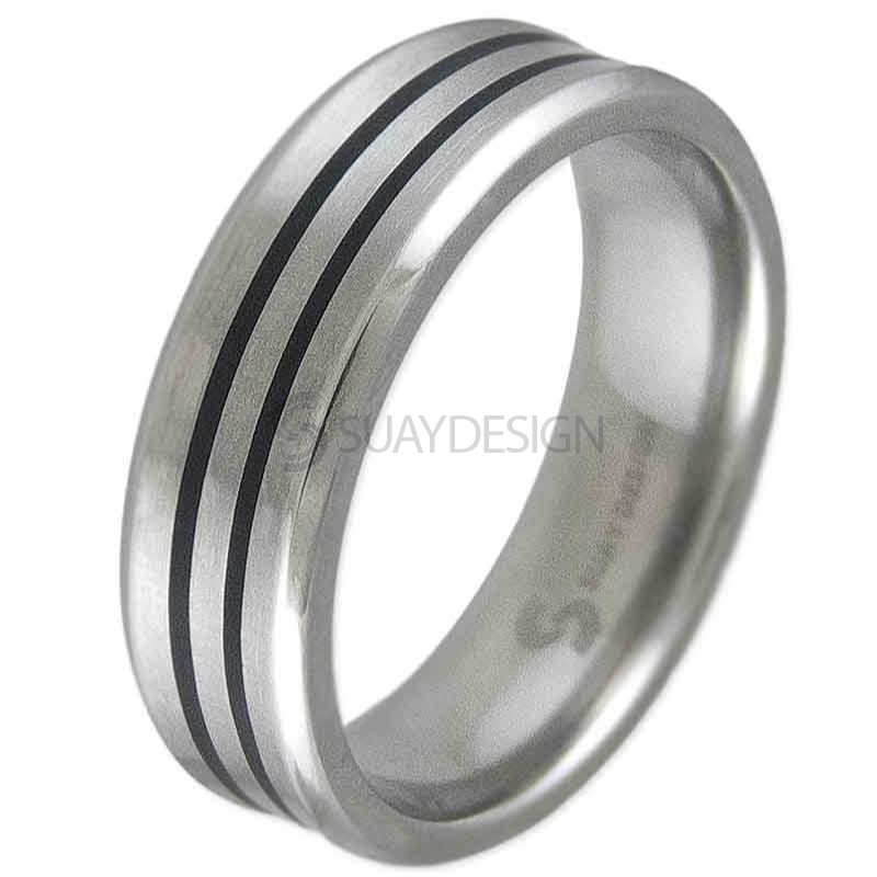 Frenzy Titanium Ring