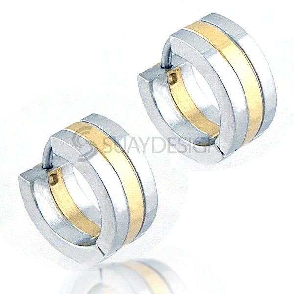Women's Regal Steel Earrings