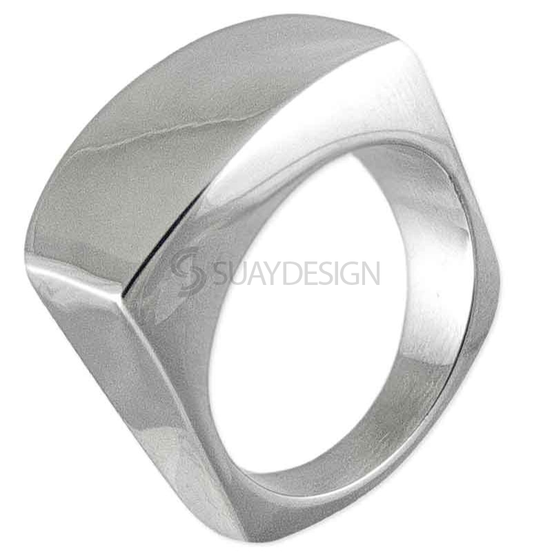 Women's Glance Steel Ring