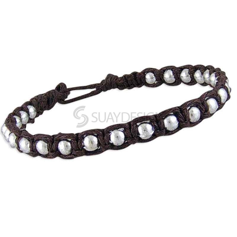 Women's Friendship Bracelet Brown Style 1