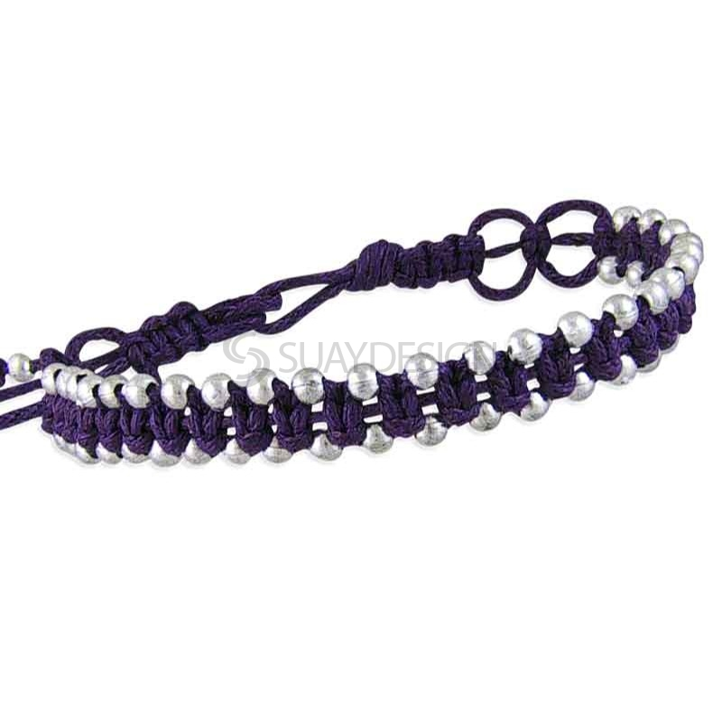 Women's Friendship Bracelet Purple Style 2