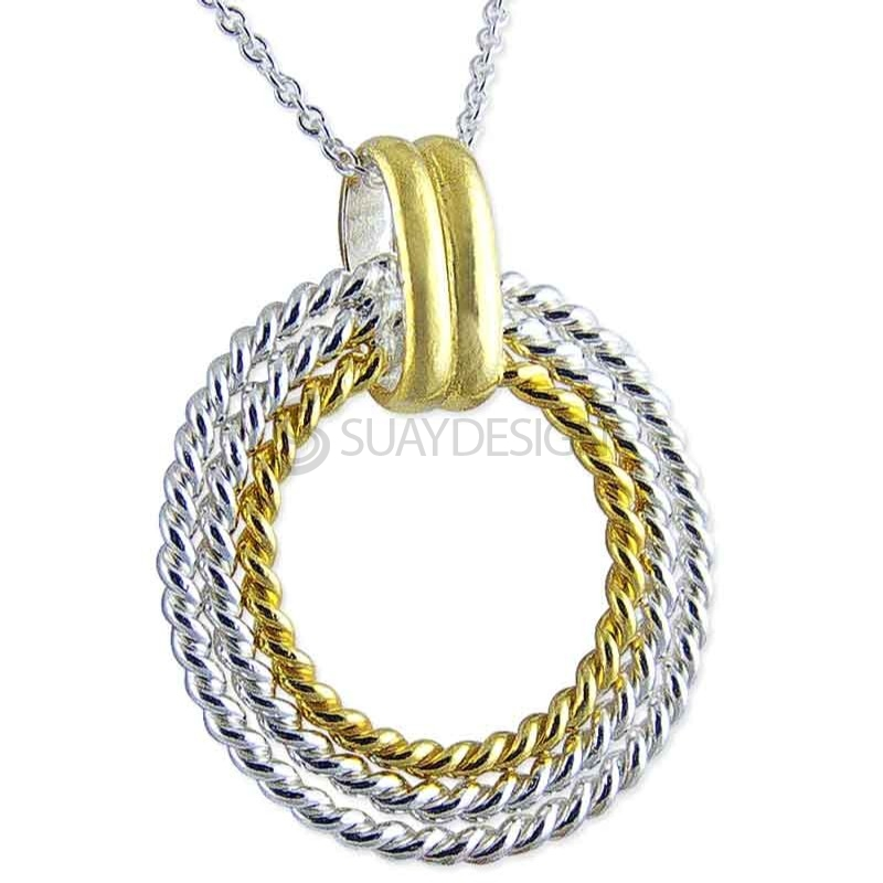 Women's Paloma Gold & Silver Necklace
