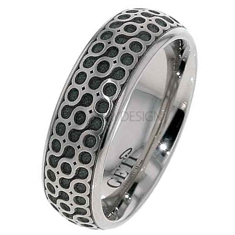 Women's Titanium Celtic Wedding Ring 2204-GB