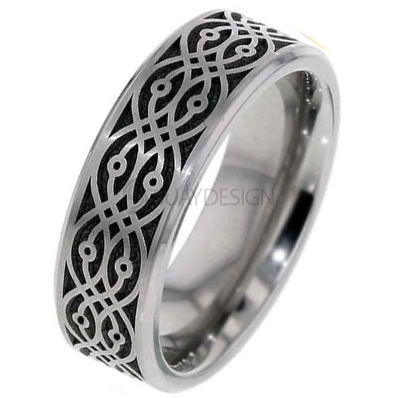 Women's Titanium Ring 2226CH-BAR3