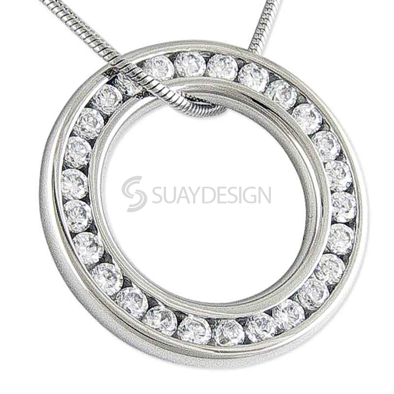 Women's Splendor Steel Necklace