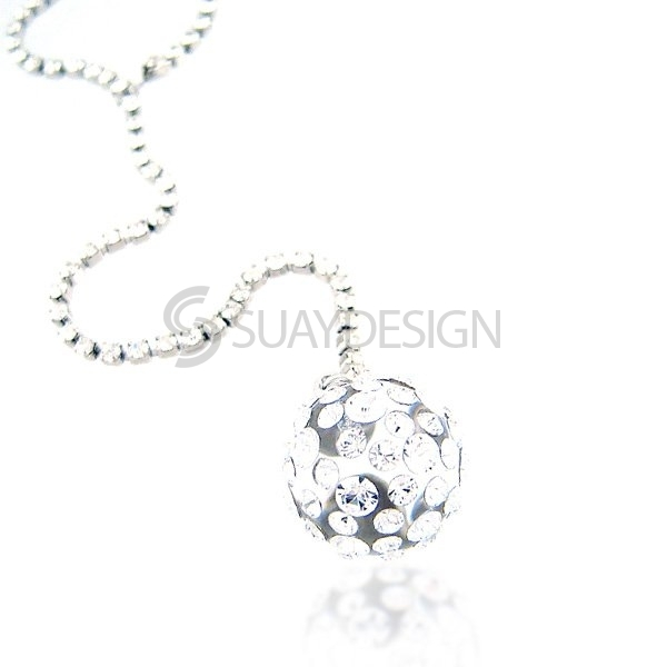 Women's Adore Crystal Necklace