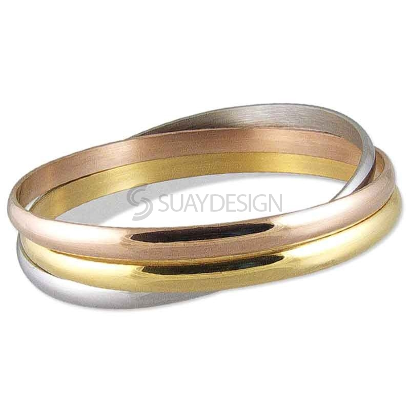 Women's Martinique Steel Bangle