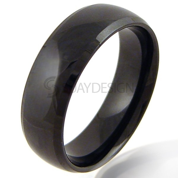 Women's Night Vision Tungsten Ring