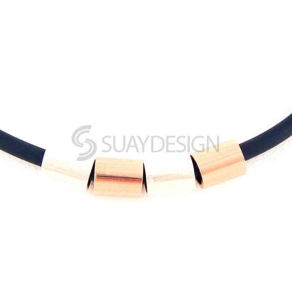 Combination Titanium Necklace 101