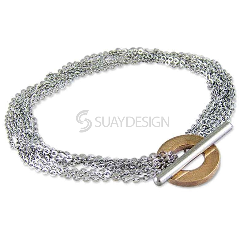 Women's Credence Minor Steel Bracelet